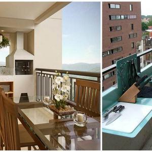 Балконът е и чудесно място за скара