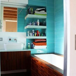Стъпка 1: Подредете шкафа за баня