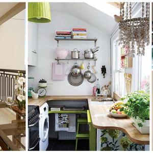 Спестете място - пренесете кухнята си на балкона
