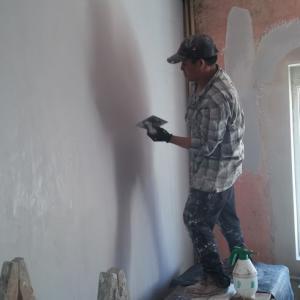Шпакловане на стена