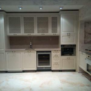 Цялостно изграждане на ел.инсталация в апартамент и свързване на ел.уреди и осветление в кухня.