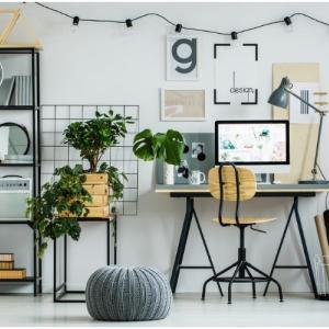 Как да обособим домашен офис в малка всекидневна?