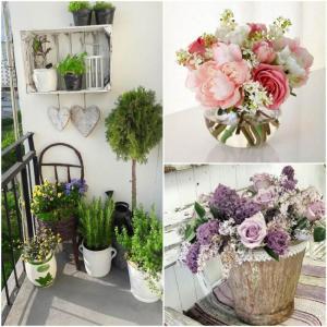 1. Изберете подходящи цветя и зеленина