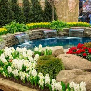 Всяка градина с цветя е уникална