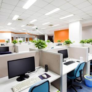 Светлината властва в дизайна на офиса