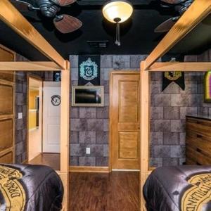 Вариант 3 за детска стая в стил Хари Потър