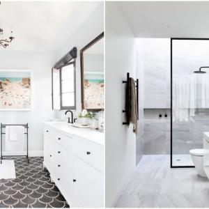 Класическа баня в бяло