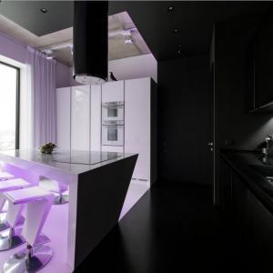 Черно-бяла кухня или царството на контрастите