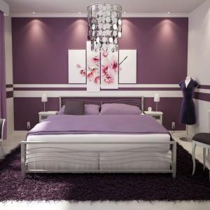 Спалня в лилаво - бъдете внимателни!
