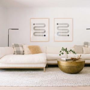 Едноцветен килим на пода: стилни идеи за приложение