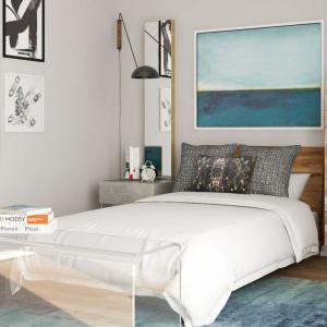 Подходящ цвят за малка спалня
