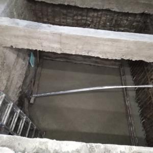 Полагане на бетон във фундамент
