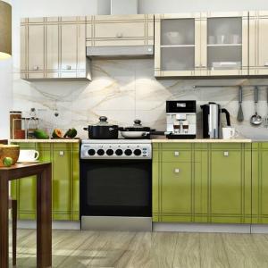 Малката кухня също може да бъде модерна
