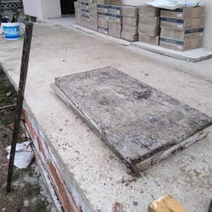 Разширяване на тераса ново стълбище и алея около къщата село Железница(София)