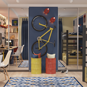 Детска стая – зарадвайте своя малчуган с атрактивна декорация
