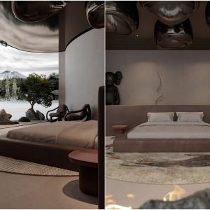 Спалните на бункера