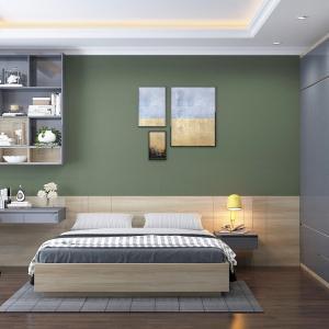 Елегантна визия на спалня в зелено