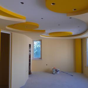 Завършен таван