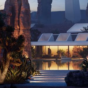 За истински ценители – къща сред скалите